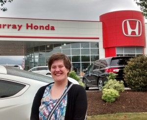 Anna-Jean Hired at Murray Honda!!!