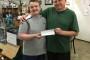 Garrett's First Pay Cheque