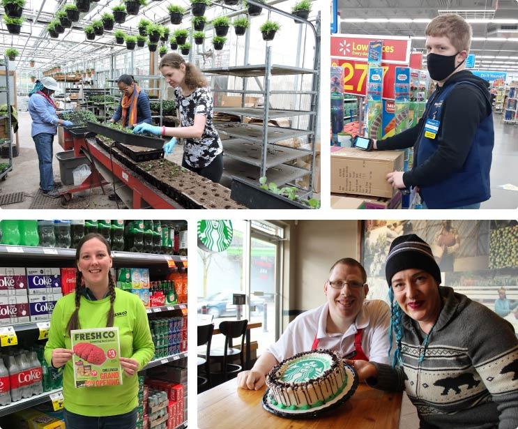 CSCL Supported Employment Services - collage
