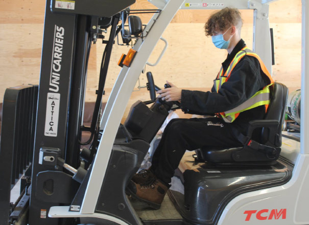 CSCL Supported Employment Services - forklift
